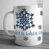 Cozy Winter Reading Mug