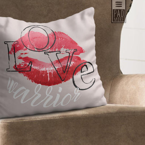 Love Warrior Pillow