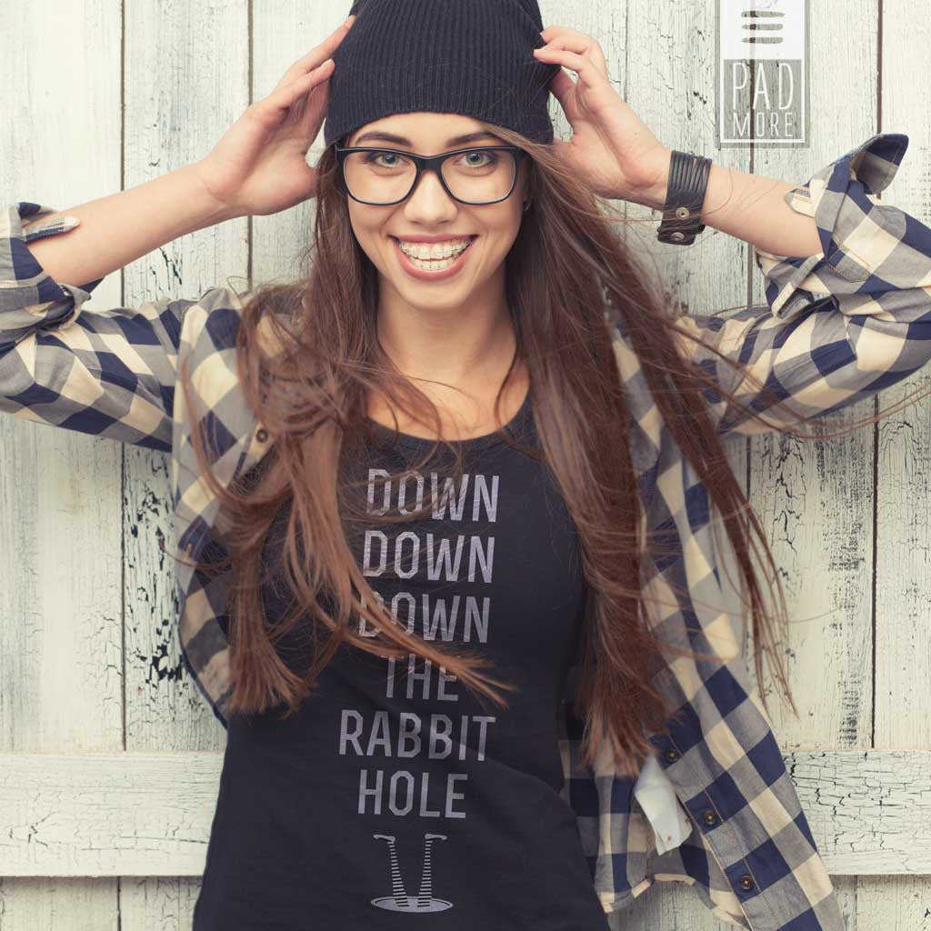 Down The Rabbit Hole Tshirt