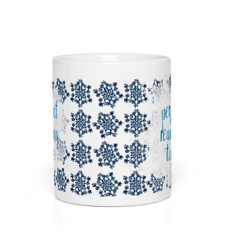 Frozen: Snowflake Reading Time Mug