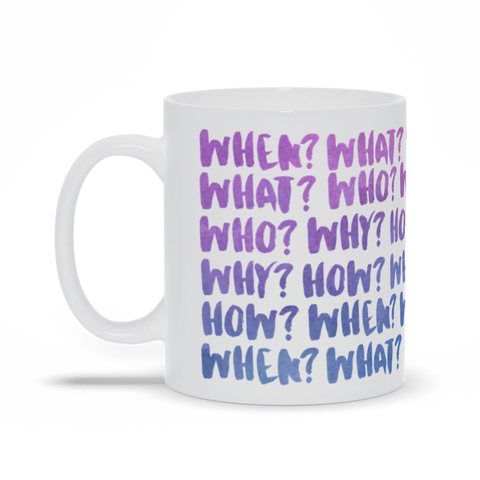 A Series of Questions Mug