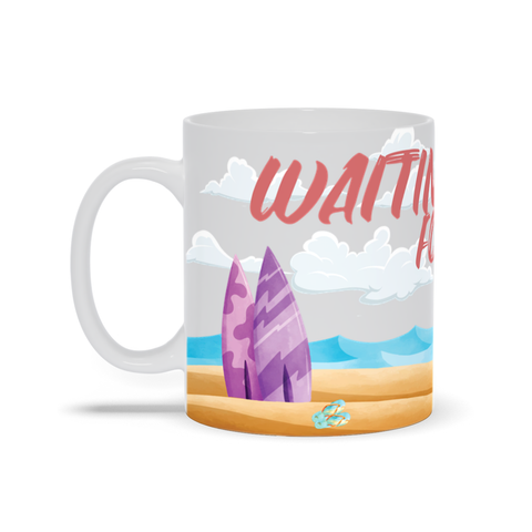 Waiting for the Waves Coffee Mug
