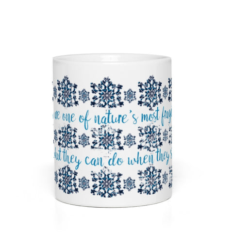 Frozen: All Together Now Snowflakes Mug