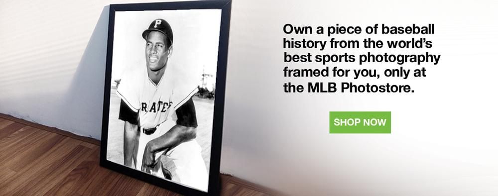 Own a piece of baseball history.  The world's best sports photography framead for you, only at the MLB Photostore.