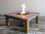 Amish Cast Concrete Fire Table (OFM103)