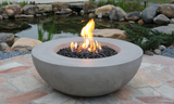 Lunar Cast Concrete Fire Table (OFG101)