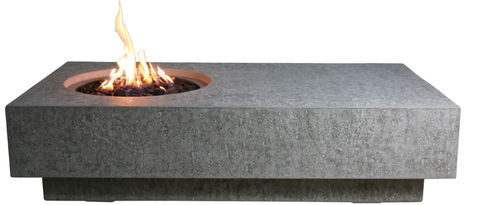 Metropolis Cast Concrete Fire Table (OFG104)