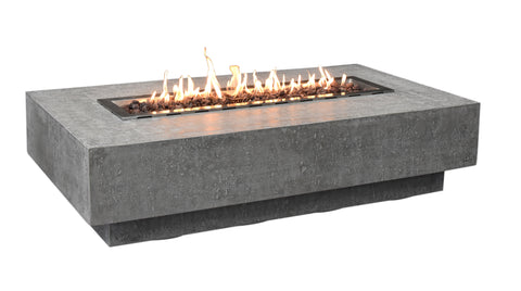 Hampton Cast Concrete Fire Table