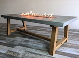 Workshop Cast Concrete Dining Table (OFG201)