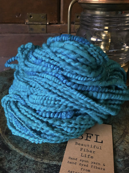 Handspun art yarn #176