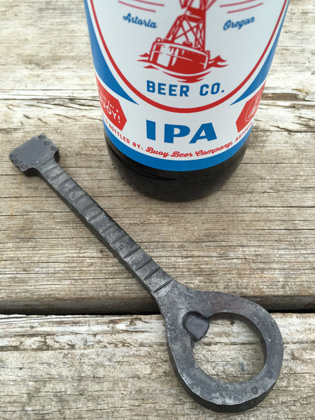 Hand forged guitar bottle opener - gift for guitar player
