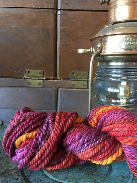 Handspun art yarn #183