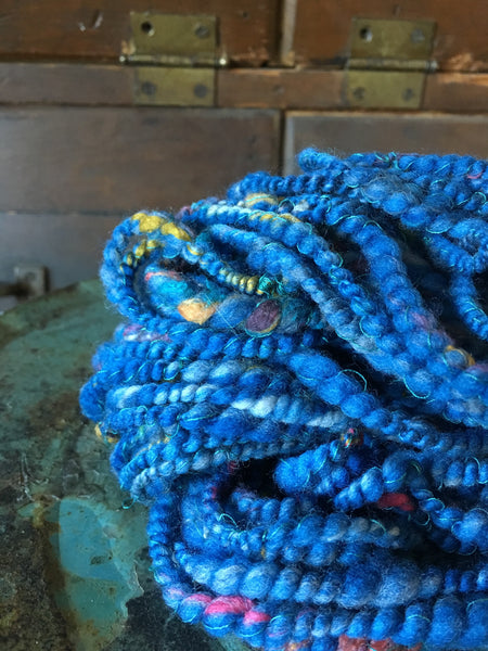 Handspun art yarn #182