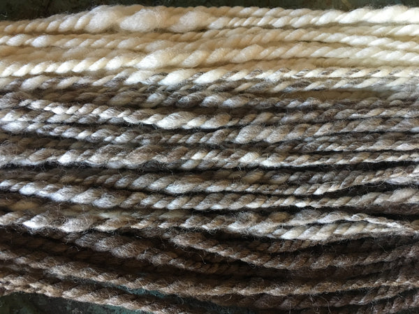 Handspun art yarn #194