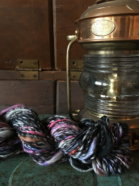 Handspun art yarn #184