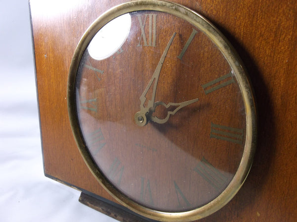 Vintage Art Deco Clock Made In Scotland