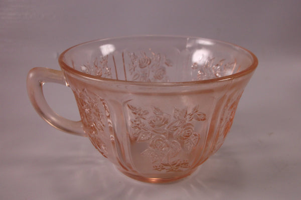Pink Sharon Cabbage Rose Cup by Federal.epsteam