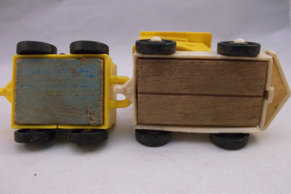 Old Chippy Paint Two Piece Toy Train.epsteam