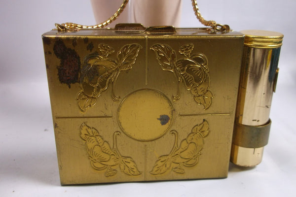 Mothers Day Gift Vintage 50s  Compact Purse Makeup Clutch.epsteam