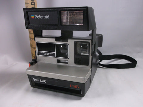 Camera Untested Vintage Polaroid Sun 600 L M S  Clean & Nice.epsteam