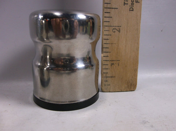 Salt And Pepper Shakers Set Stainless Steel  Vintage Denmark Fashion  .epsteam