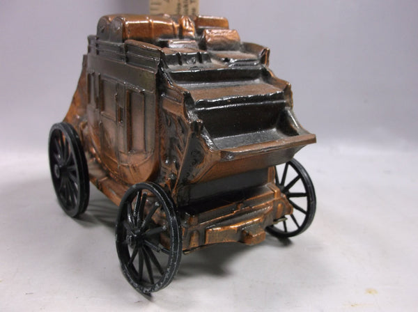 Coin Bank Banthrico Stage Coach Cast Metal Toy Bank The Prairie State Bank Augusta Kansas