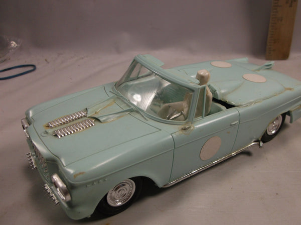 1950 s Rambler Convertible And Red Sports Car Toy Modle Kits Built Ups,rubber tiers 2 door  .epsteam