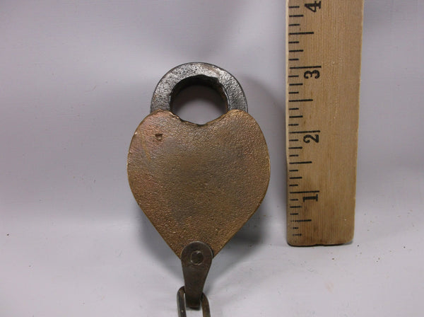 Original Antique  Railroad RR Padlock No Key .epsteam