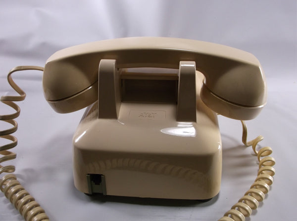 Retro Ivory Desk Telephone By Western Electric For Bell System.epsteam