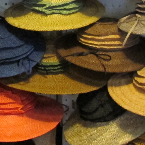 Packable Straw Hats