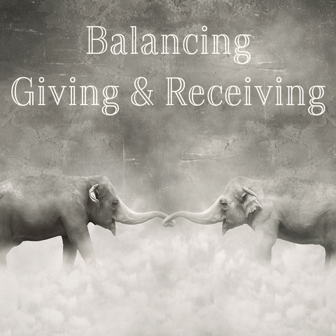 Balancing Giving and Receiving