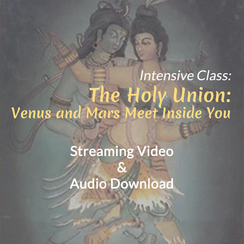 The Holy Union: Venus and Mars Meet Inside You