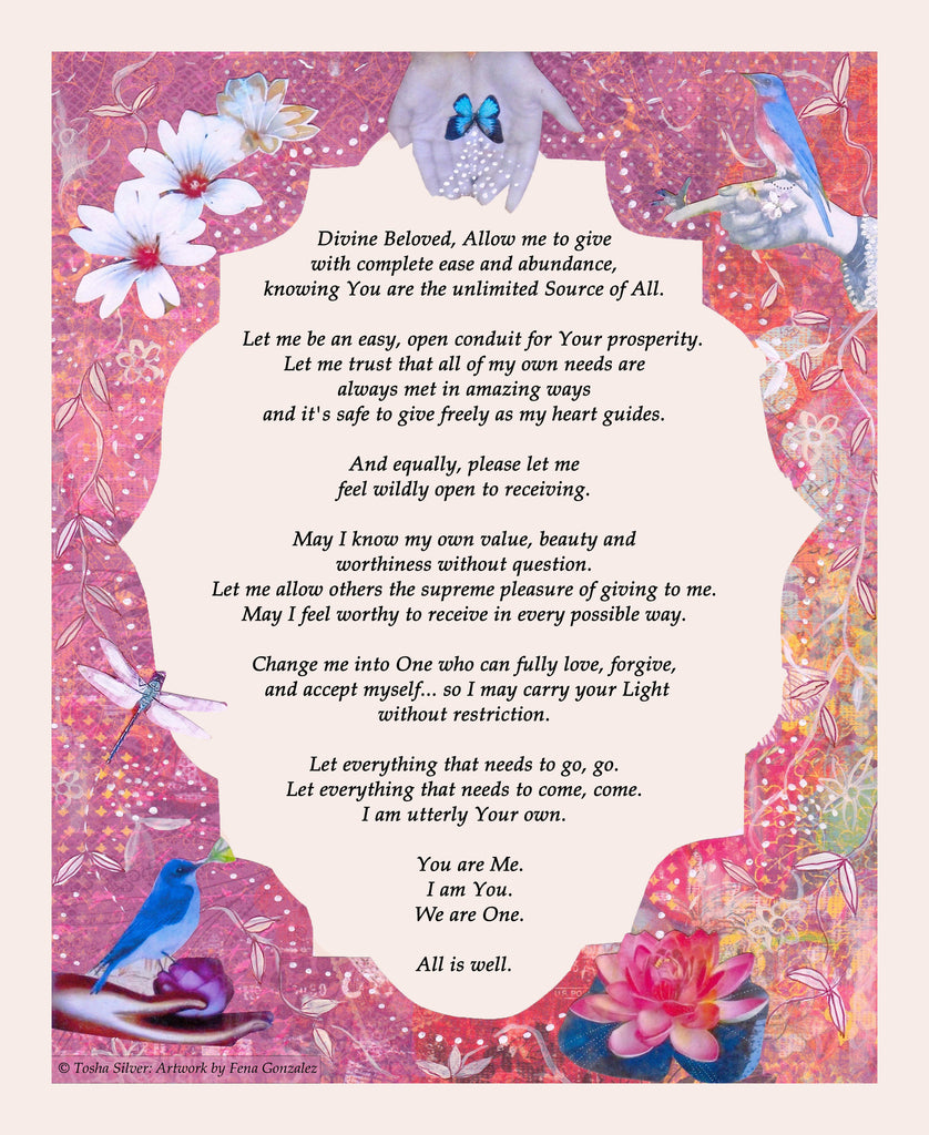 Change Me Prayer Poster