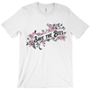 Save the Bees Shirt - Pink Flowers