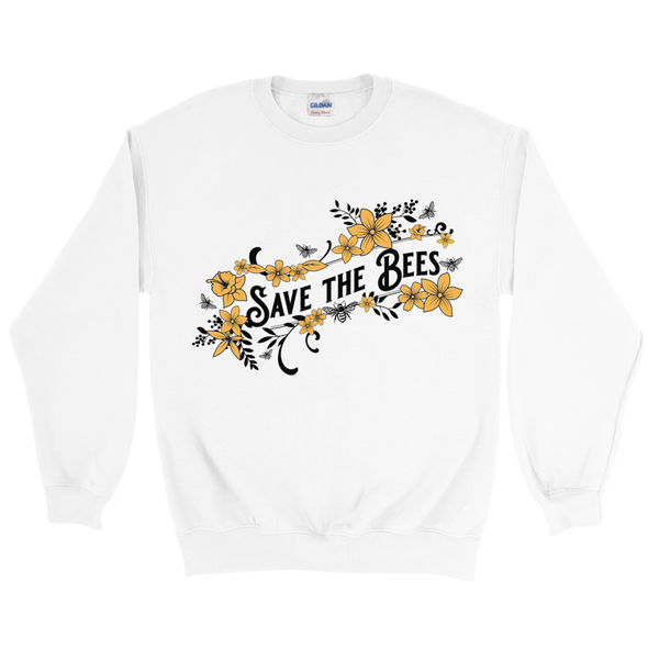 Save the Bees Sweatshirt - Yellow