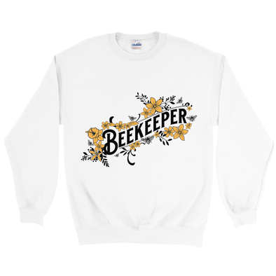 Beekeeper Sweatshirt with Yellow Flowers