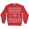 Crazy Bee Guy Ugly Christmas Sweater