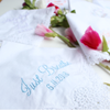 Wedding Day Handkerchief - Just Breathe