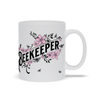 Beekeeper Mug with Pink Flowers