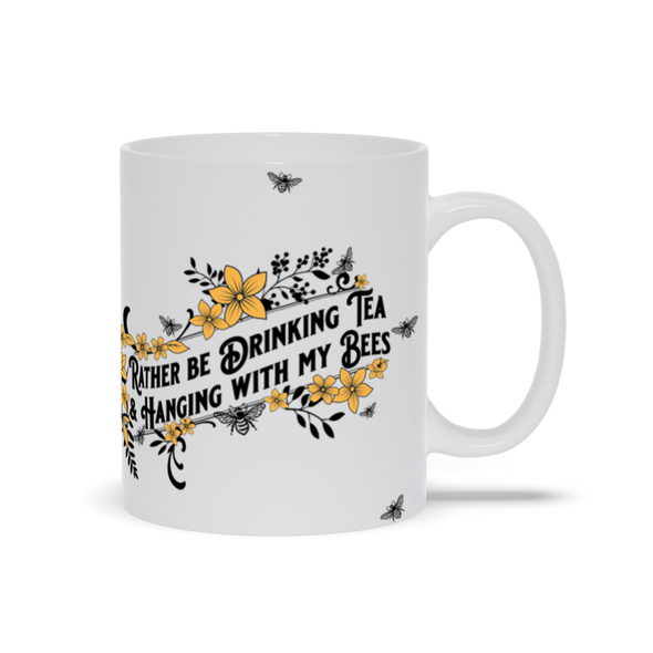 Hanging with my Bees mug - Yellow