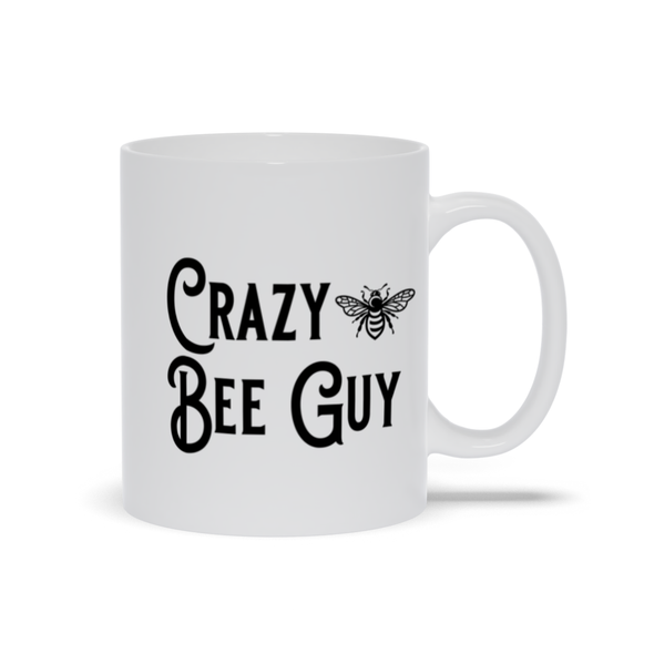 Crazy Bee Guy Mug