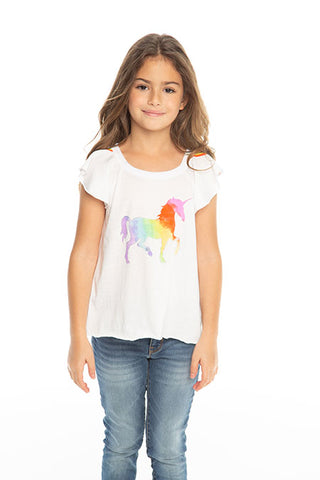 Rainbow Vintage Unicorn Tee
