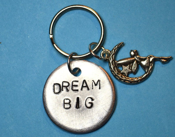 Dream Big Inspirational Gift Keychain