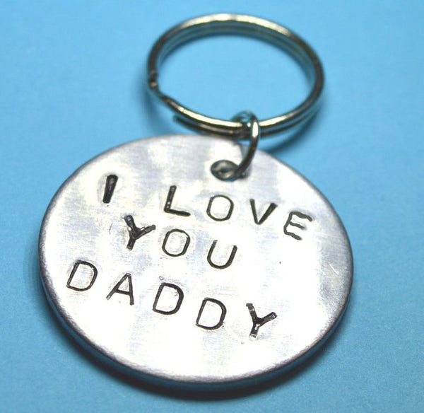 I Love You Daddy Keychain- Father's Day Gift