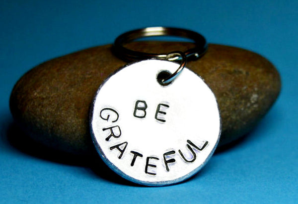 "Keyring - ""Be Grateful"" Keyring"