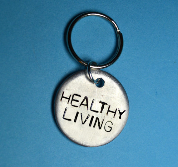 Keyrings - Healthy Living Keyring