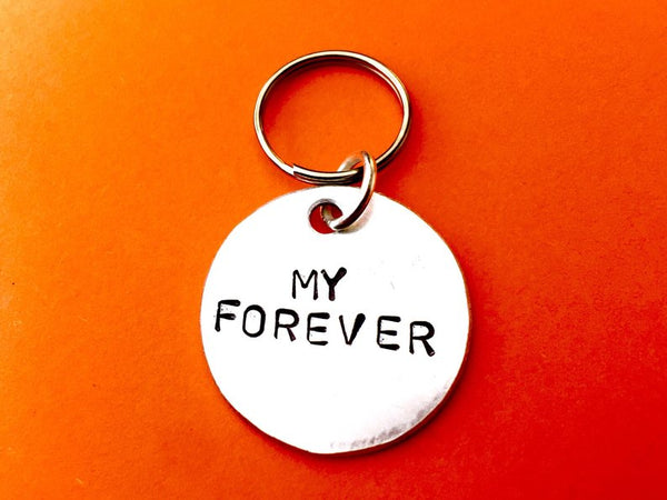 My Forever Keychain- Gift for Boyfriend
