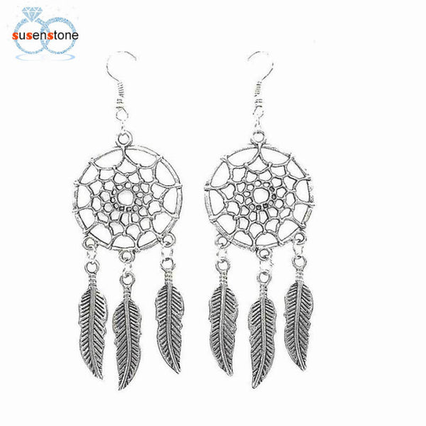Dreamcatcher Boho Earrings