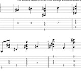 modern jazz guitar etudes for advanced guitarists. guitar pro files, pdf musical notation and tabs, mp3 -midi sound file.