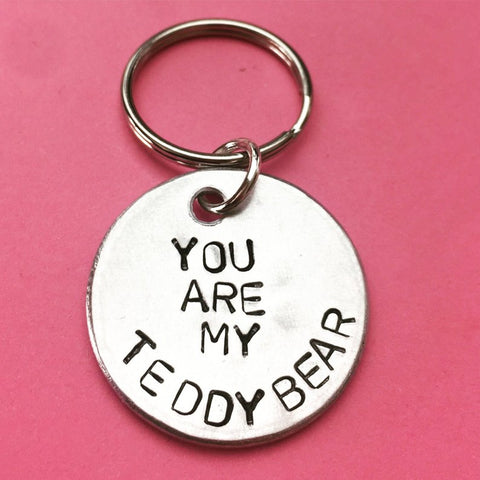 You Are My Teddy Bear Keychain- Valentines Gift For Boyfriend